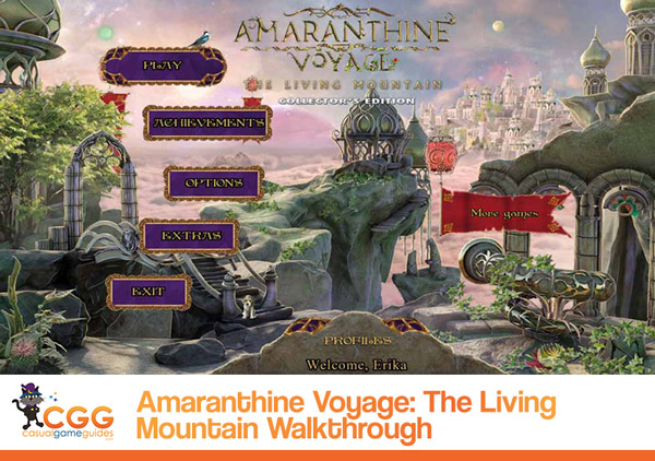 Amaranthine Voyage Walkthrough