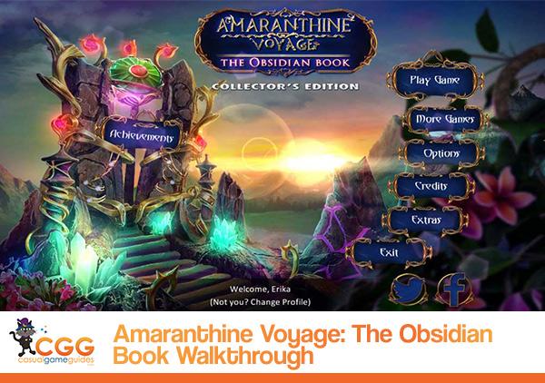 Amaranthine Voyage Walkthrough