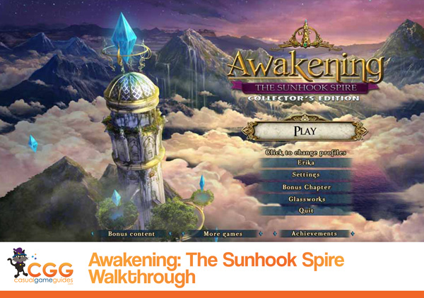 Awakening Walkthrough