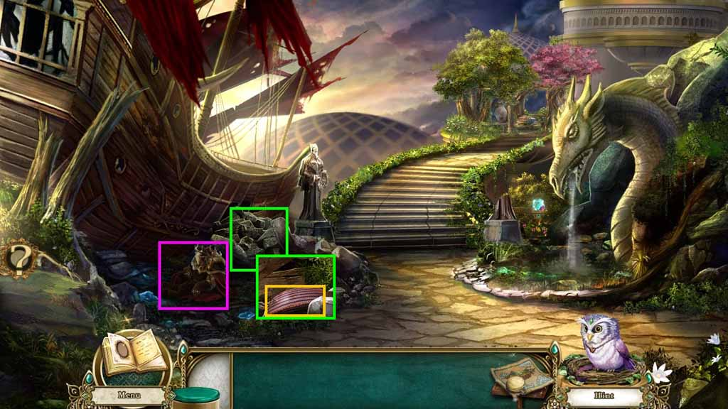 Awakening: The Sunhook Spire Walkthrough: Rubble