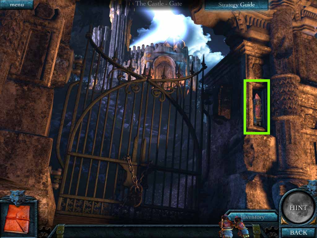 The Beast of Lycan Isle Walkthrough: Gate