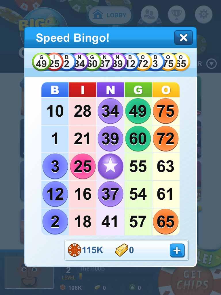 Big Fish Casino Bingo