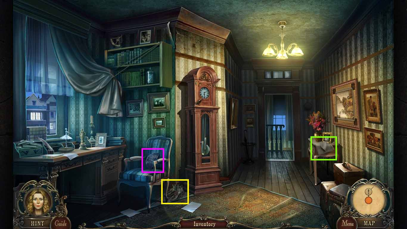 Brink of Consciousness: The Lonely Hearts Murders Walkthrough: Crescent