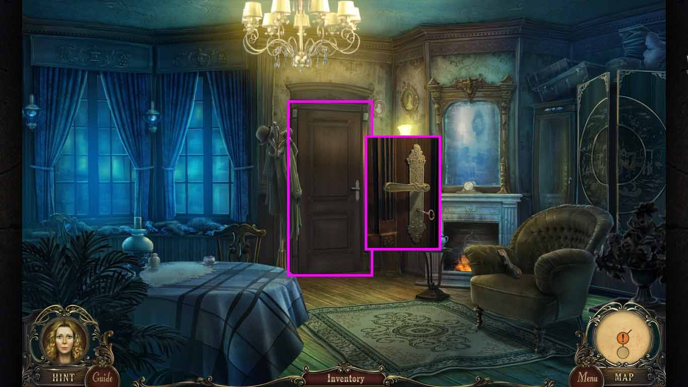 Brink of Consciousness: The Lonely Hearts Murders Walkthrough: Door