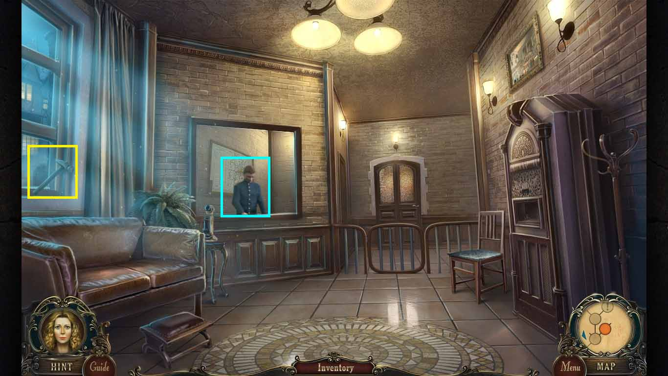 Brink of Consciousness: The Lonely Hearts Murders Walkthrough: Hammer