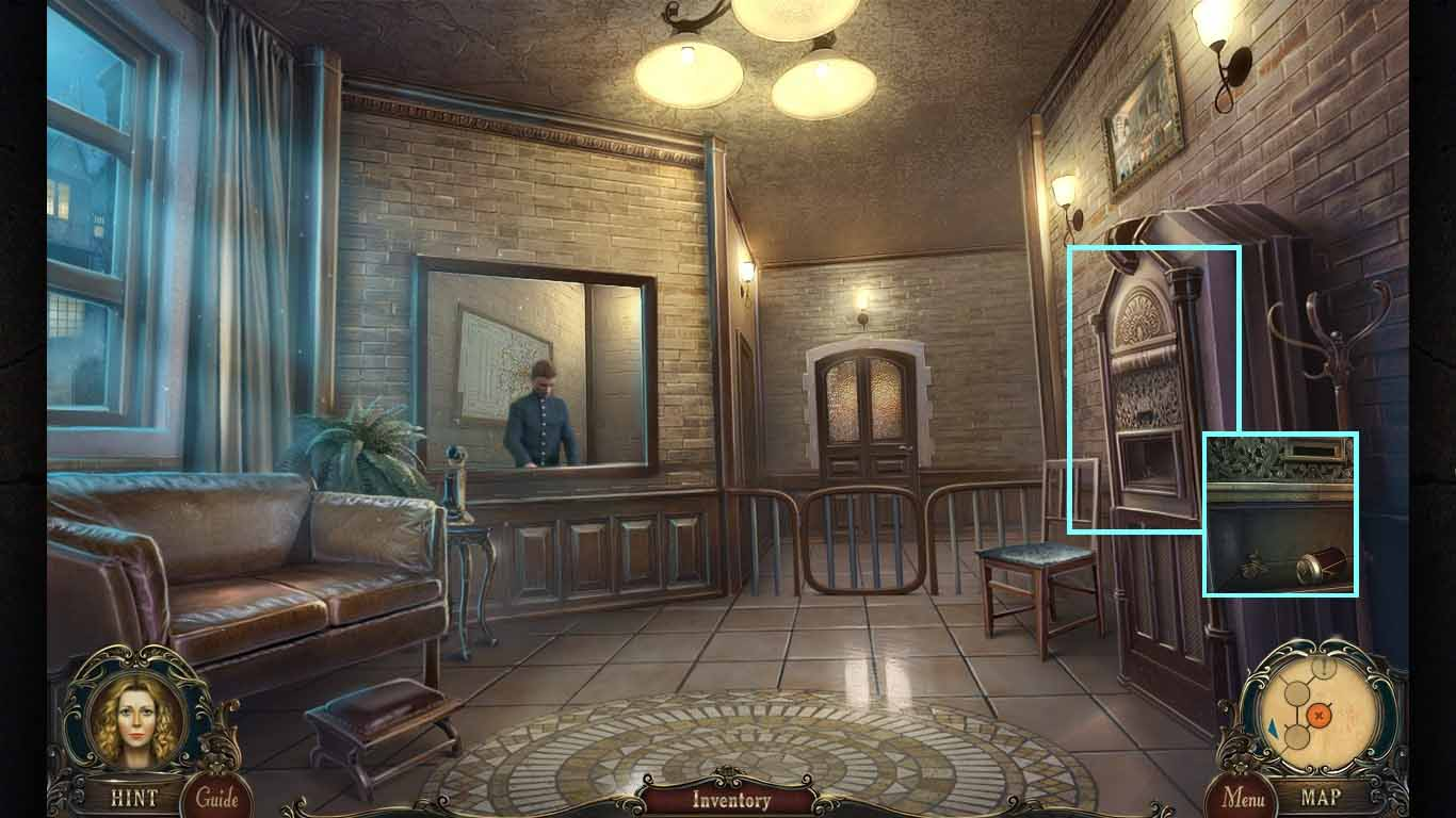 Brink of Consciousness: The Lonely Hearts Murders Walkthrough: Machine