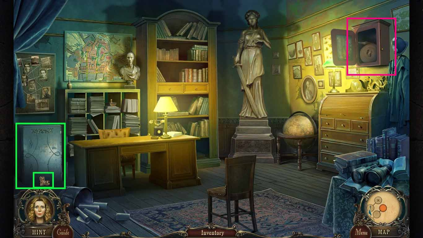 Brink of Consciousness: The Lonely Hearts Murders Walkthrough: Safe