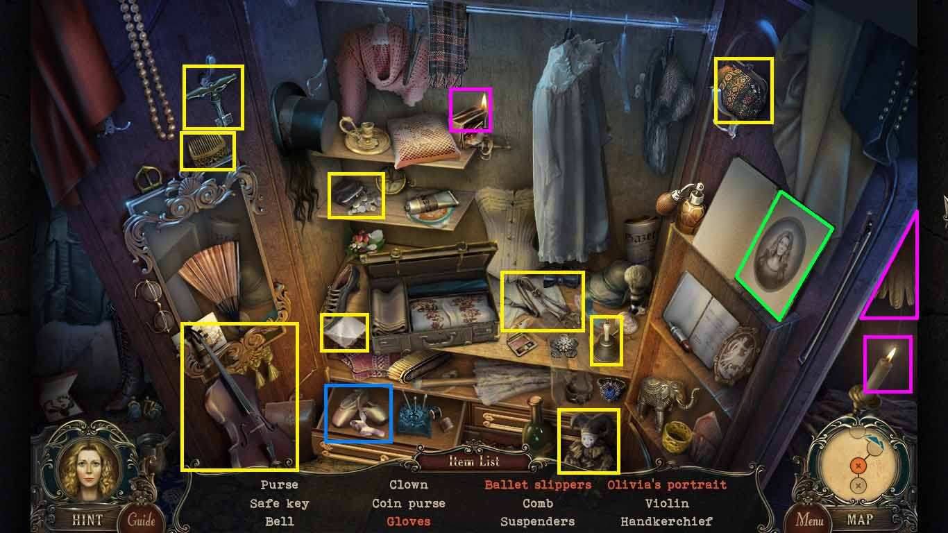 Brink of Consciousness: The Lonely Hearts Murders Walkthrough: Hidden Object 2