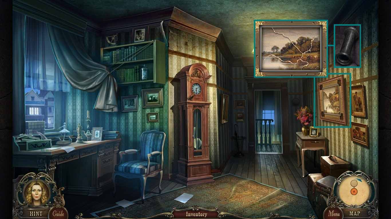 Brink of Consciousness: The Lonely Hearts Murders Walkthrough: Painting