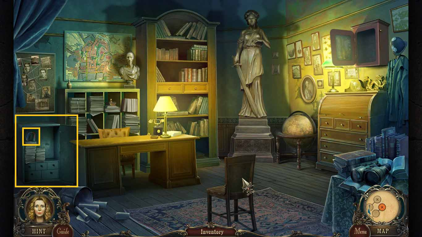 Brink of Consciousness: The Lonely Hearts Murders Walkthrough: Safe Keys