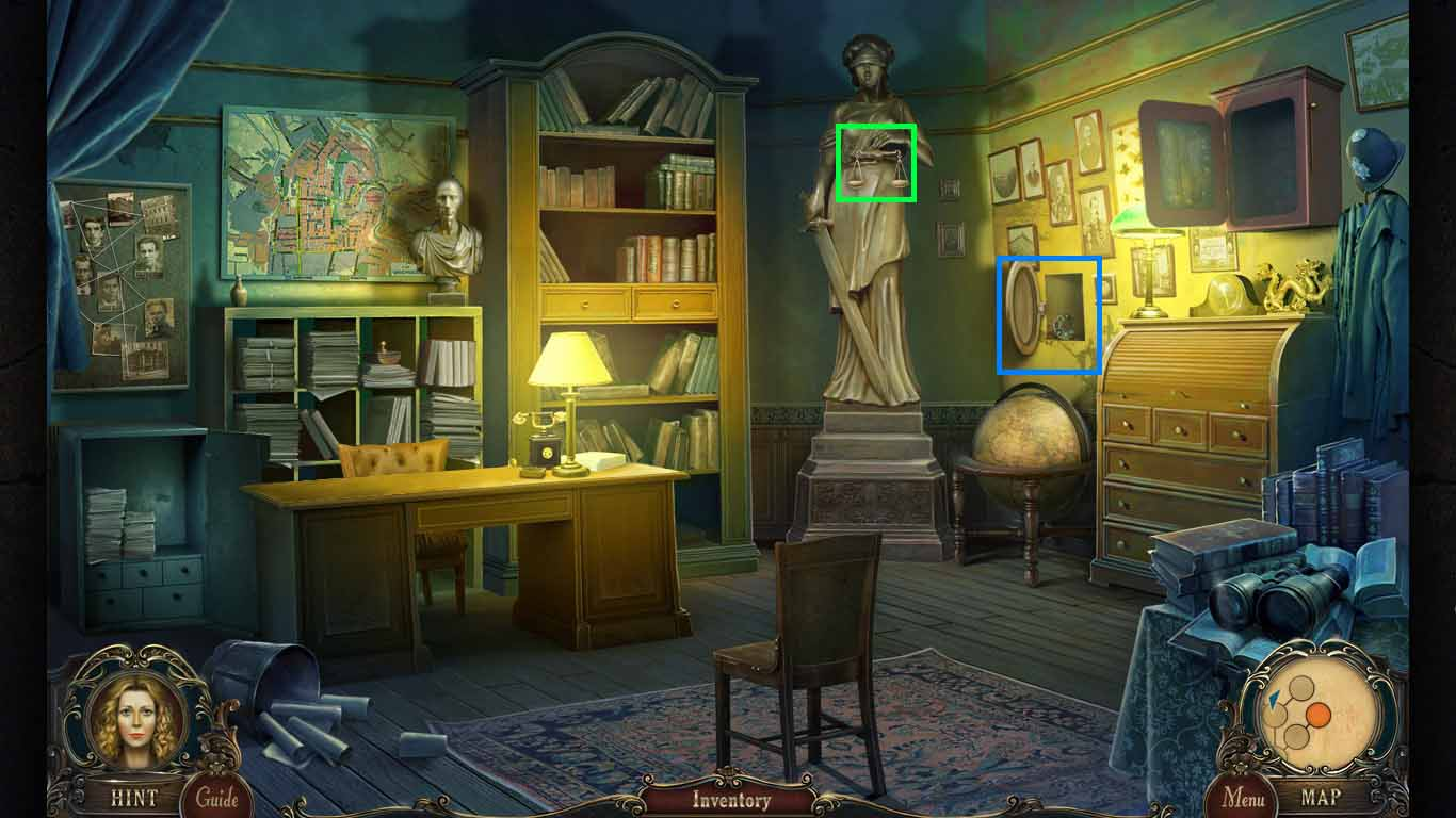 Brink of Consciousness: The Lonely Hearts Murders Walkthrough: Scales