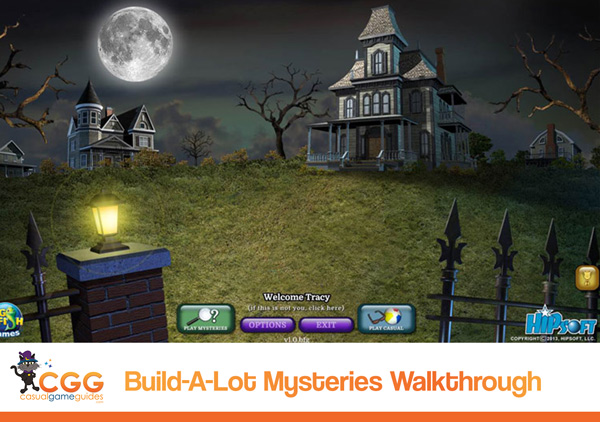 Build-a-lot Mysteries Walkthrough