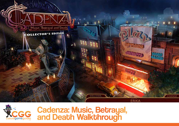Cadenza Walkthrough