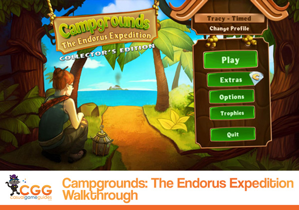 Campgrounds Walkthrough