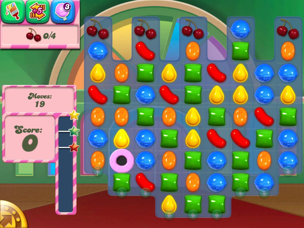 Candy Crush Saga Walkthrough: Ingredient Levels