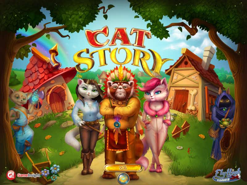 Cat Story Walkthrough Puzzle Screenshot