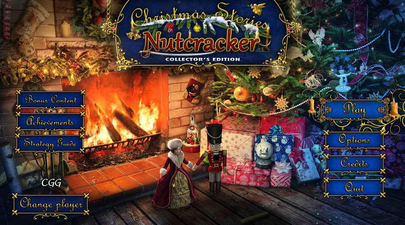 Christmas Stories Nutcracker Review - Title