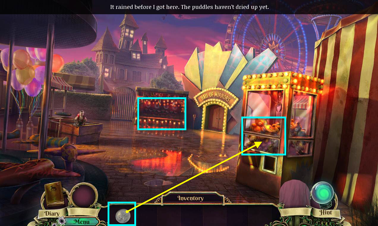 Dark Arcana: The Carnival Walkthrough: The Square
