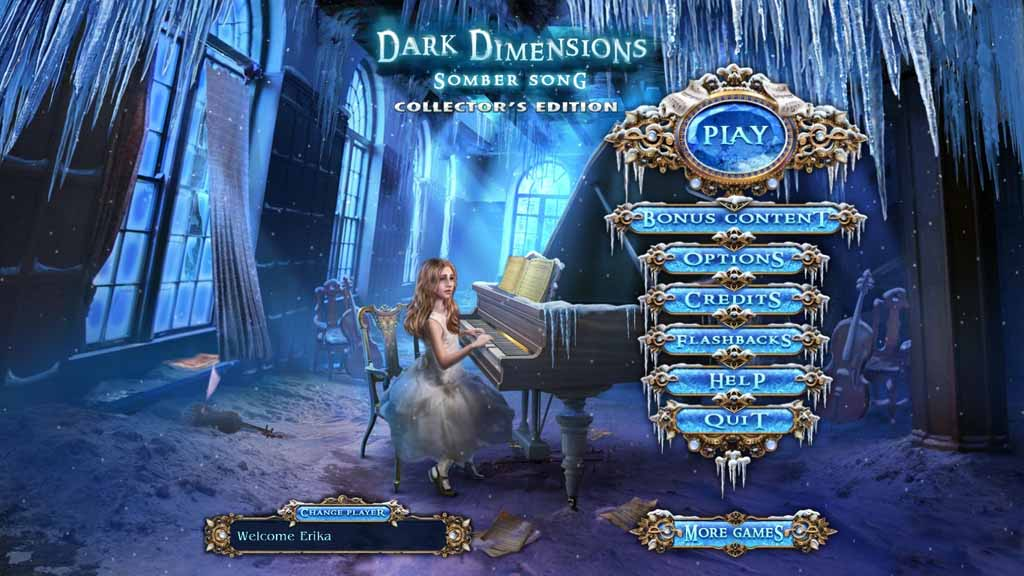 Dark Dimensions: Somber Song Walkthrough: Title