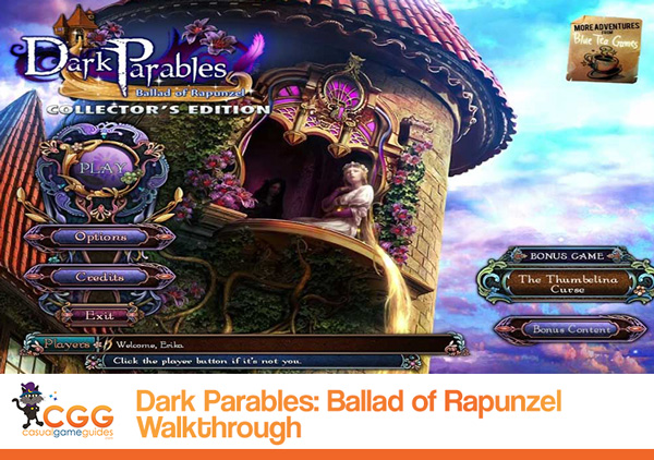 Dark Parables Ballad of Rapunzel Walkthrough