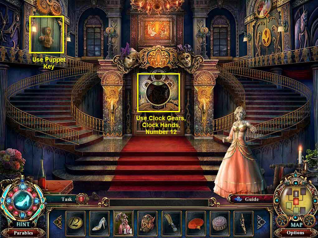 Dark Parables: The Final Cinderella Walkthrough: Clock
