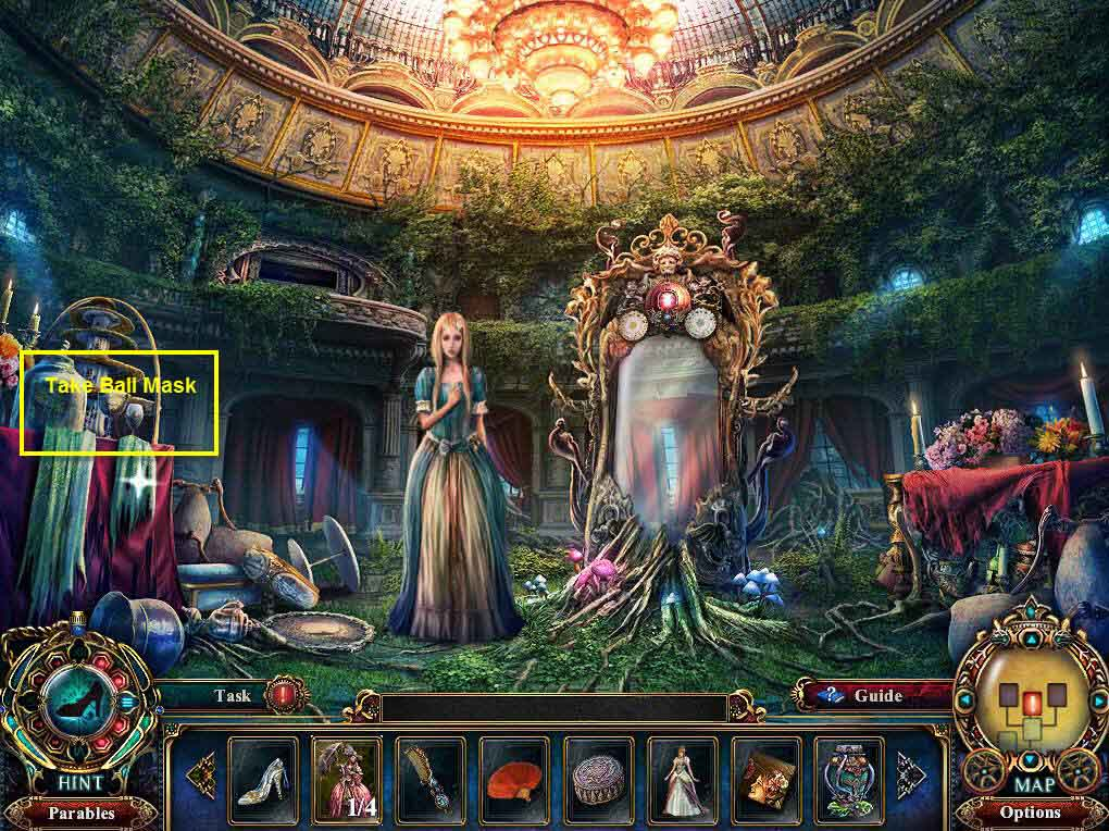 Dark Parables: The Final Cinderella Walkthrough: Mask