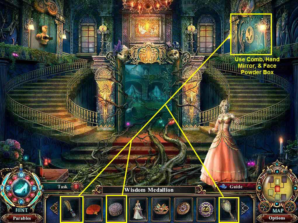 Dark Parables: The Final Cinderella Walkthrough: Door
