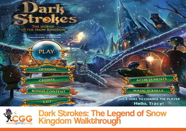 Dark Strokes Walkthrough