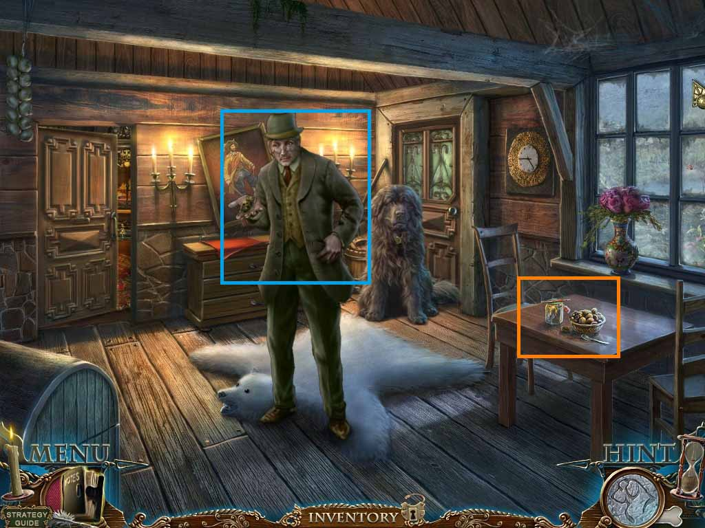 Dark Tales: Edgar Allan Poe's The Gold Bug Walkthrough: Inside