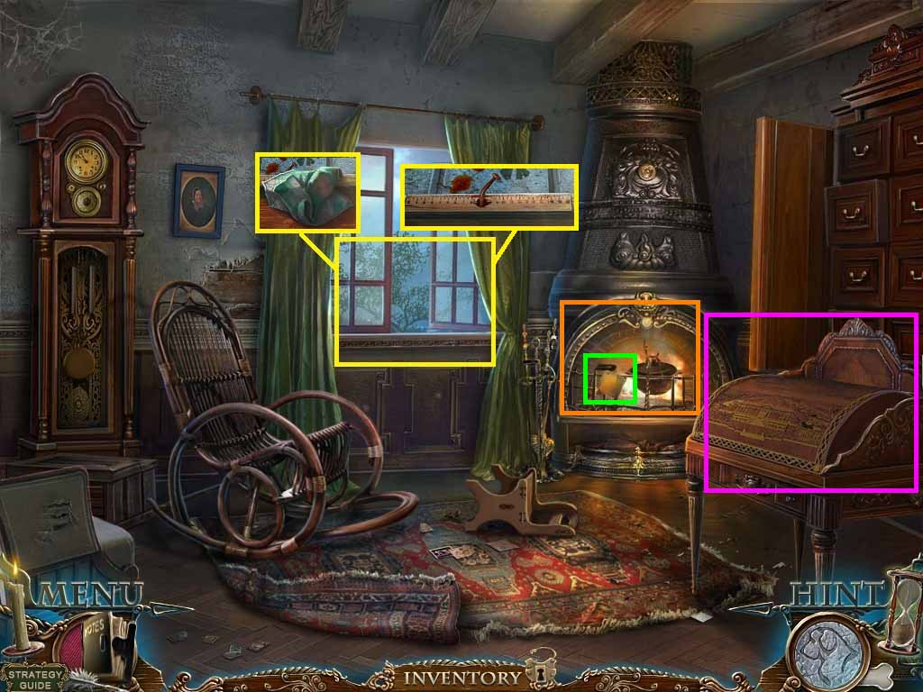 Dark Tales: Edgar Allan Poe's The Gold Bug Walkthrough: Window