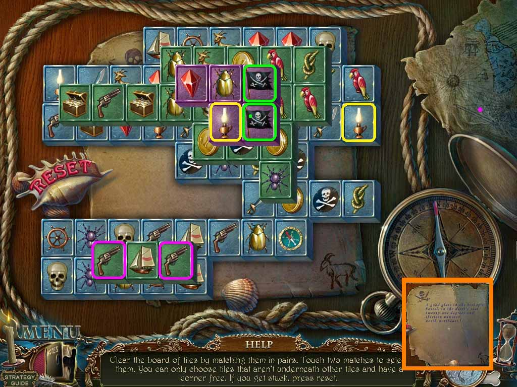 Dark Tales: Edgar Allan Poe's The Gold Bug Walkthrough: Parchment Puzzle
