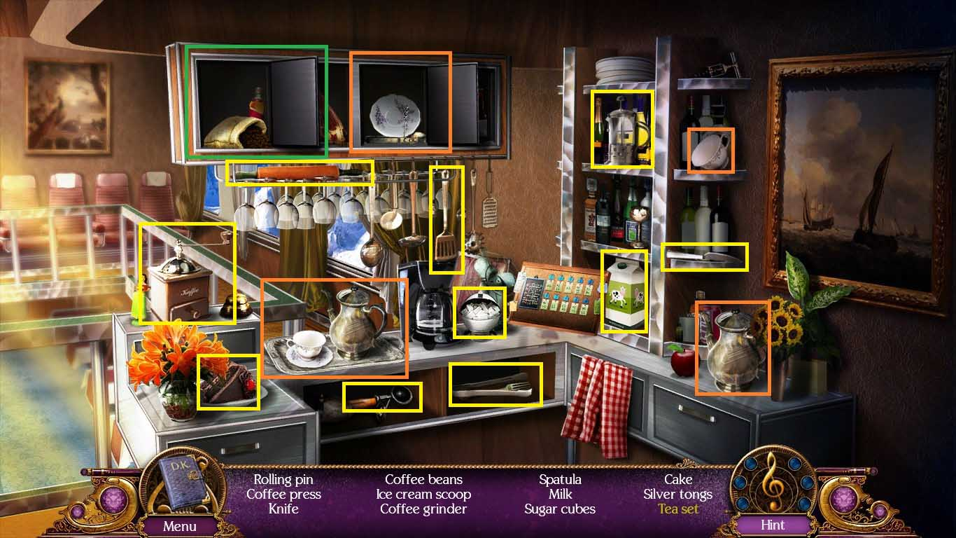 Death Upon an Austrian Sonata: A Dana Knightstone Novel Walkthrough: Hidden Object 2