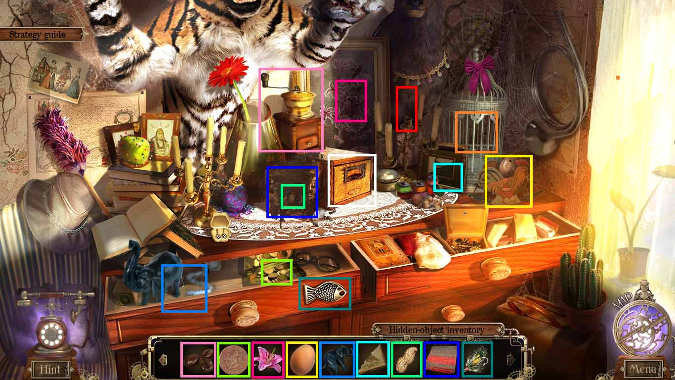 Detective quest the crystal slipper walkthrough chapter for Moving items into place
