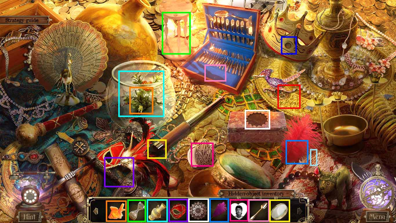 Detective Quest: The Crystal Slipper Walkthrough: Hidden Object Game