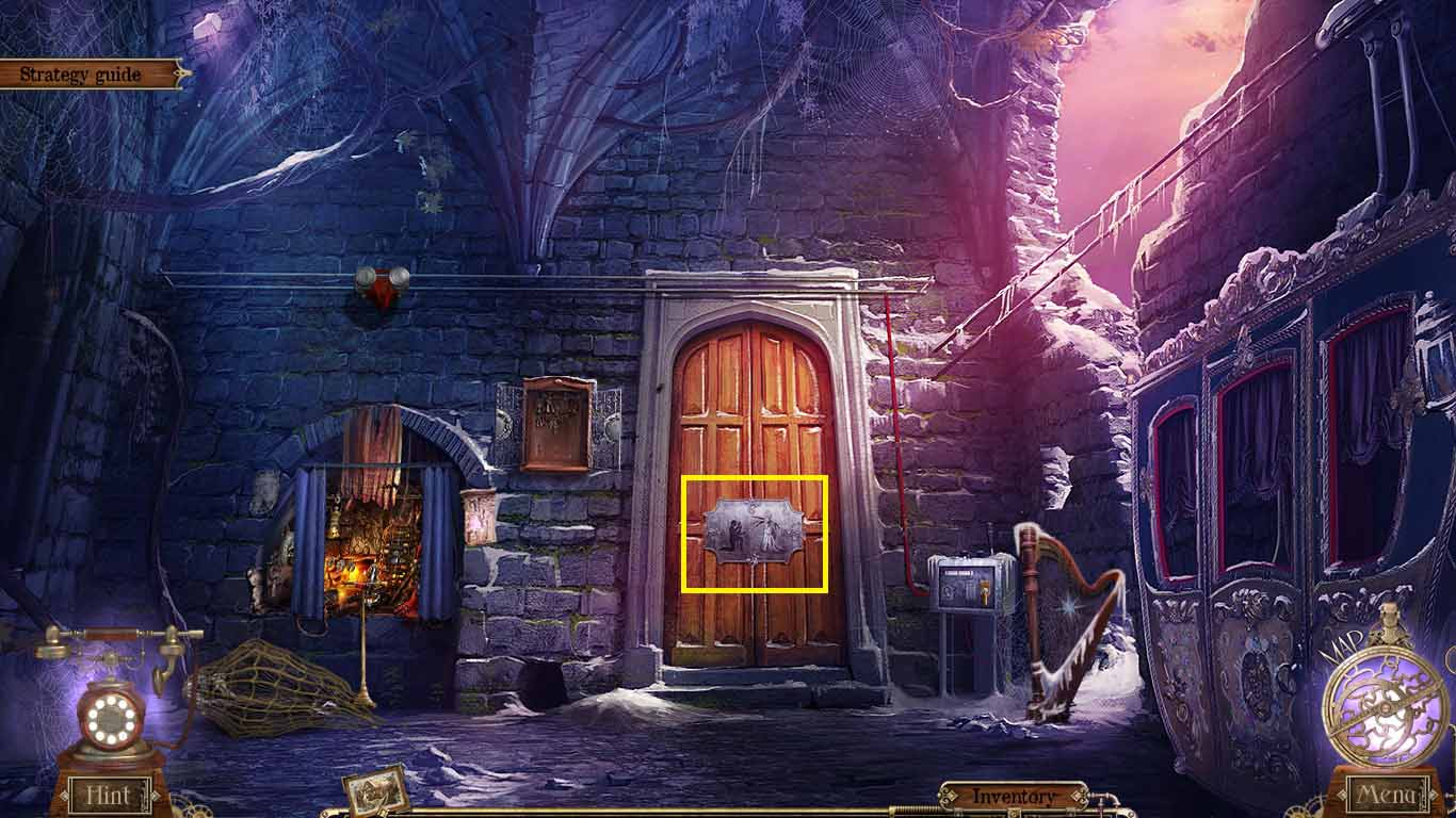 Detective Quest: The Crystal Slipper Walkthrough: Door