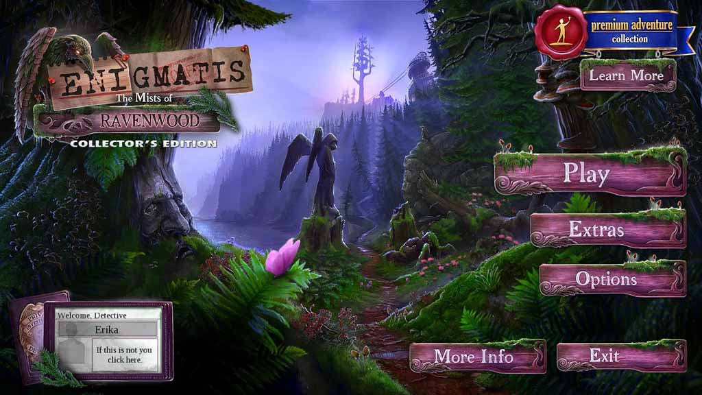 Enigmatis: The Mists of Ravenwood Walkthrough: Title Image