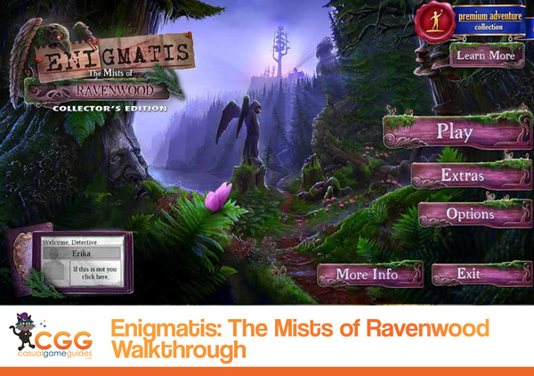 Enigmatis Mists of Ravenwood Walkthrough