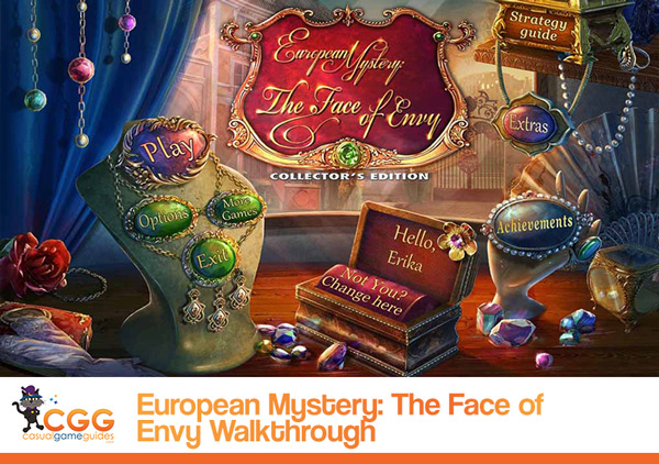 European Mystery Walkthrough