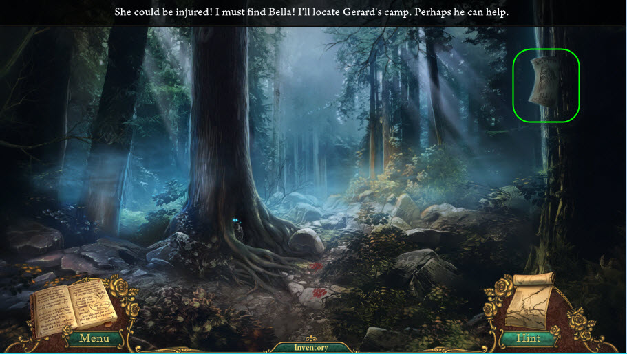 Fairly Twisted Tales: The Price Of A Rose Walkthrough: The Forest