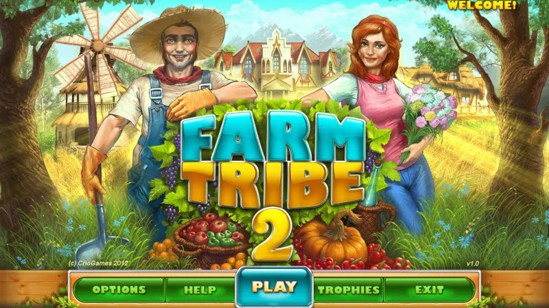Farm Tribe 2 Walkthrough Title