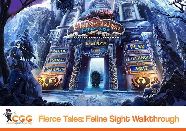 Fierce Tales: Feline Sight Walkthrough