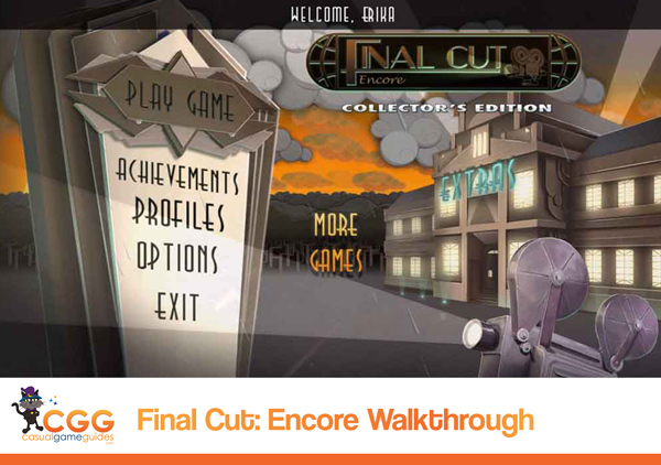 Final Cut Walkthrough