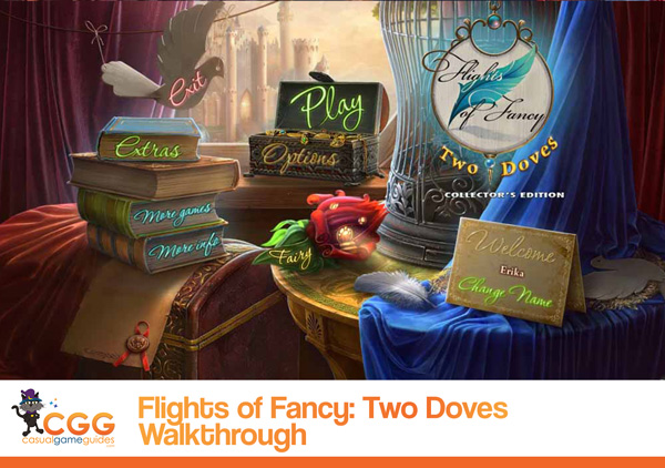 Flights of Fancy Two Doves Walkthrough