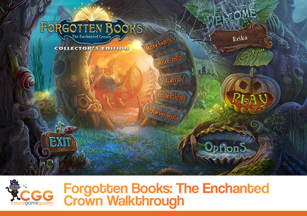 Forgotten Books Enchanted Crown Walkthrough
