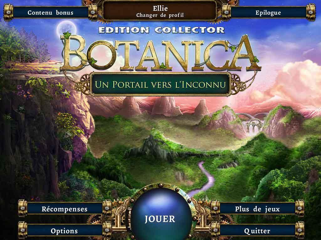 Botanica : Un portail vers l'Inconnu
