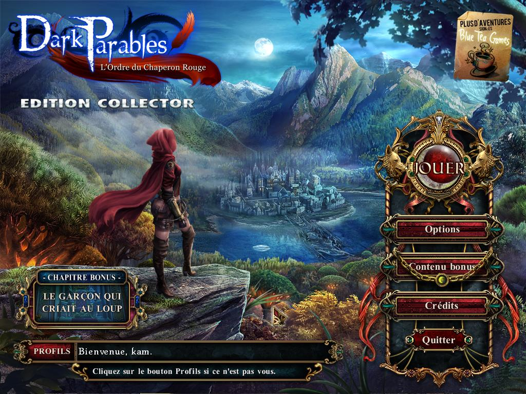 [Multi] Dark Parables L'Ordre du Chaperon Rouge Edition Collector [Pc]