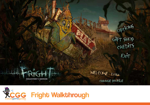 Fright Walkthrough
