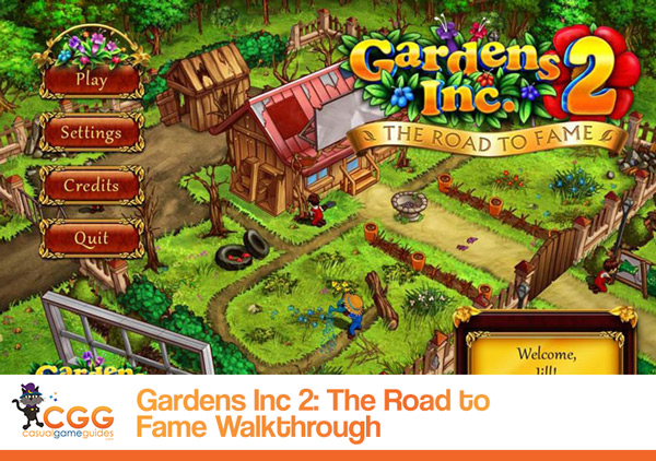Gardens Inc 2 Walkthrough