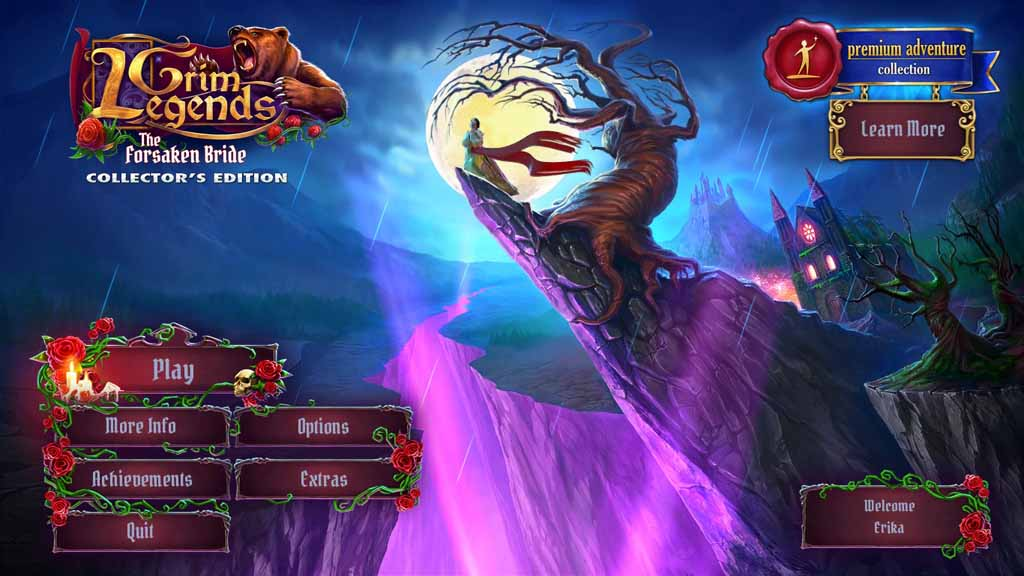 Grim Legends: The Forsaken Bride Walkthrough: Title