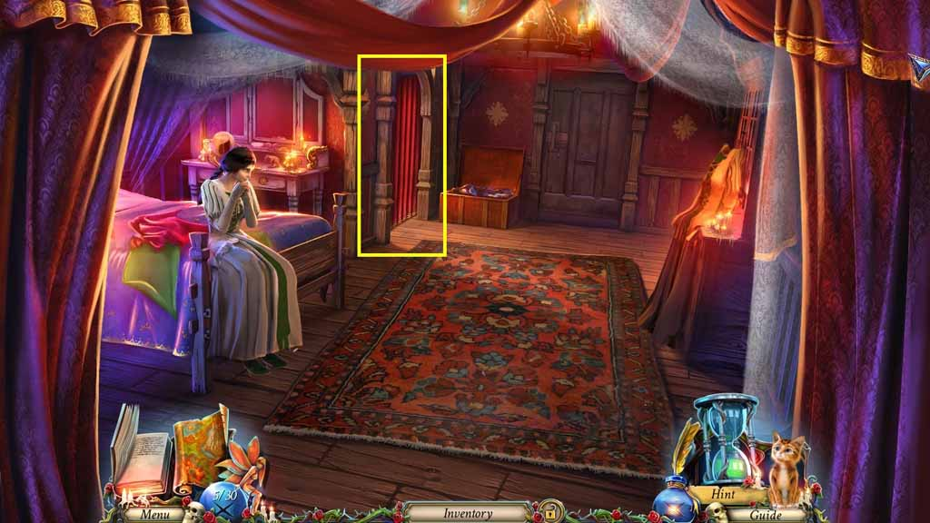 Grim Legends: The Forsaken Bride Walkthrough: Curtain